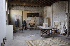 Didier Verriest - Michael Borremans studio