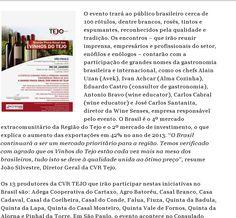 Continuação - Blog Alice Varajão : 'Caravana dos Vinhos do Tejo' - 'Grande Prova Anual de Vinhos do Tejo'. Com Wine Senses.