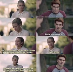 #riverdale #betty #archie