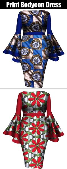 New Register Enjoy Extra Off Coupon African Dresses For Women, African Attire, African Wear, African Women, African Fashion Ankara, African Design, Women's Fashion Dresses, High Waist, Bodycon Dress