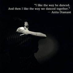 Me gusta como el baila y como bailamos juntos