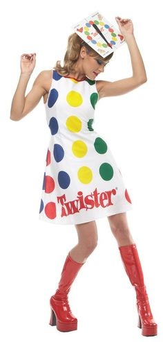 TWISTER WOMEN MEDIUM 8-10 Womens Costumes Comical