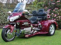 Honda Goldwing GL 1800 Trike Kit by Champion Trikes