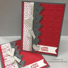 Sending Love with the Sealed with Love Bundle ❤ Valentine Love Cards, Happy Valentines Day, Valentine Ideas, Heart Cards, Halloween Cards, Paper Cards, Greeting Cards Handmade, Homemade Cards, Stampin Up Cards