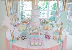 Babyology shows you a children's birthday party that's perfect for pony-loving princesses. Check out the carousel shaped sweets table!