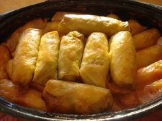 """Saskatchewan, the province I reside in, has a large Ukrainian population, so that's where this Ukrainian Cabbage Roll Recipe (or """"Rice Holu..."""