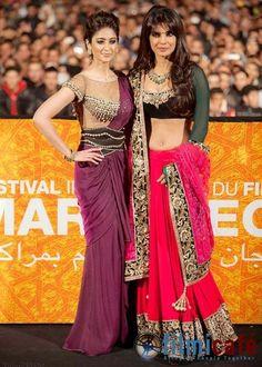 Priyanka Chopra, Ileana DCruz at Marrakech Film Festival 2012 - Filmicafe