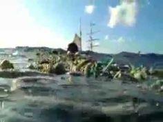 La Isla de basura en el Oceáno Pacífico