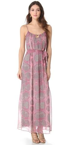 Twelfth St. by Cynthia Vincent Adana Maxi Dress.  Delicate, not bulky maxi!!!