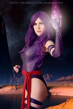 Psylocke by LadyLemon Cosplay