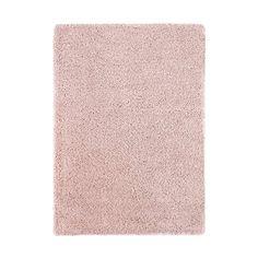 Vloerkleed Norell - shaggy roze - 200x290 | Leen Bakker