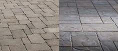 Which Belgard paver do you like better - Dublin (left) or Lafitt Rustic Slab (right)?