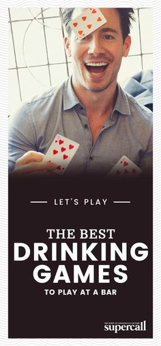 Some drinking games translate perfectly to the bar environment, which makes them great for group nights out or fending off awkward moments when conversation runs dry. Bar Games, Games To Play, Fun Drinking Games, Beer Pong, Party Entertainment, Lets Play, Awkward Moments, More Fun, Conversation