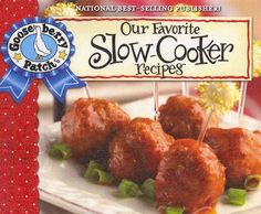 With over 60 delicious recipes and as many time-saving tips, Our Favorite Slow-Cooker Recipes cookbook features mouthwatering recipes like scalloped ham potatoes, easy lasagna, yummy bbq chicken and c