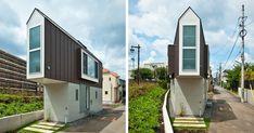 Esta estrecha casa japonesa solo parece pequeña hasta que la ves por dentro | Bored Panda