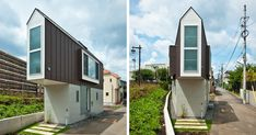 This Narrow House In Japan Only Looks Tiny Until You Look Inside | Bored Panda