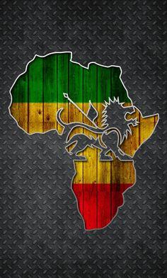 Freedom of Africa Bob Marley Painting, Bob Marley Art, Rasta Art, Rasta Lion, Rasta Tattoo, Bob Marley Smoking, Africa Silhouette, Rastafari Art, Reggae Art