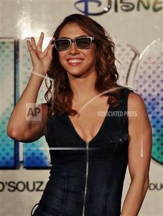 Bollywood actress Lauren Gottlieb smiles as she poses for photographers during the trailer unveiling of ABCD 2 (Any Body Can Dance in Mumbai, India, Wednesday, April The movie is scheduled for release on June (AP Photo/Rafiq Maqbool) April 22, In Mumbai, Bollywood Actress, Wednesday, Theater, Photographers, Camisole Top, India, Actresses