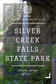 We took a trip nearby to Silverton, Oregon to Silver Creek Falls, within Silver Creek State Park. The south falls entrance is a quick trip to the falls. South Korea Travel, South America Travel, North America, Travel With Kids, Family Travel, Family Trips, Silver Creek Falls, Silverton Oregon, Midwest City