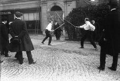 Duellistes à Paris (1914).