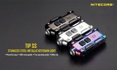 Nitecore TIP SS CREE XP - G2 S3 360LM 6500 - 7000K LED Keychain Flashlight