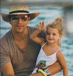 With his great daughter Anastasia! Anastasia, Panama Hat, Father, Daughter, My Love, Children, Hats, Fashion, Pai