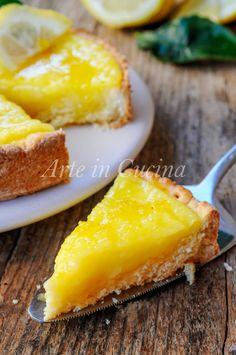 Crostata morbida al limone con doppia crema vickyart arte in cucina Lemon Recipes, Sweet Recipes, Cake Recipes, My Favorite Food, Favorite Recipes, Daily Meals, Sweet Desserts, Italian Recipes, Food Porn