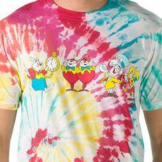 Tie Dye Vans, Tie Dye T Shirts, Disney Vans, Disney Sweaters, Young At Heart, Shirt Shop, Alice In Wonderland, Cool Things To Buy, Hilarious