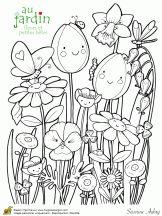 Coloriage jardinage sur Hugolescargot.com