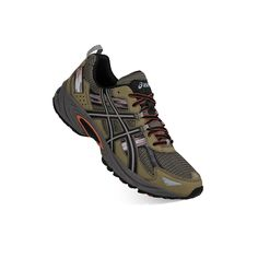 ASICS GEL-Venture 5 Men's Trail Running Shoes, Size: 10.5, Green Oth