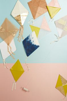 """ Make It Happen: Let's Go DIY a Kite! In our humble opinion, a kite in flight is as emblematic of the spring season as…> "" Make It Happen: Let's Go DIY a Kite! In our humble opinion, a kite in flight..."