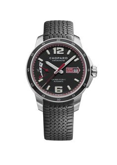 Power, resistance and aesthetics come together in the Mille Miglia GTS Power Control, a resolutely masculine timepiece bearing all the hallmarks of Chopard expertise. Housing the self-winding Chopard Calibre 01.08-C and beating at a frequency...