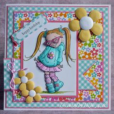 So many adorable cards. I think my favorite here. Blogged by:debby4000 at: A Scrapjourney