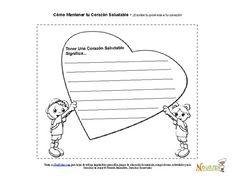 Our health worksheets promote the foods and exercise that