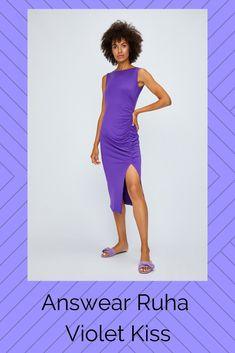 e46b1b2176 Ruha kollekció Answear. Sima kötött anyagból készült illeszkedő modell. -  Szűk modell. -