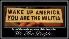WAKE UP AMERICA, YOU ARE THE MILITIA!                                           https://fbcdn-sphotos-h-a.akamaihd.net/hphotos-ak-xpf1/t1.0-9/10577059_707904392579831_857550453599401461_n.jpg