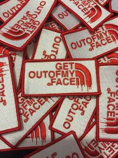 This patch that you can pin on whenever someone you don't like gets too close.