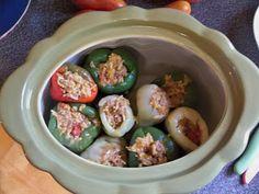 Stuffed Peppers  Bean Pot Recipes with Gwen Helmka