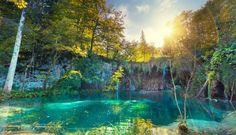 Parque Nacional dos Lagos Plitvice - Croácia