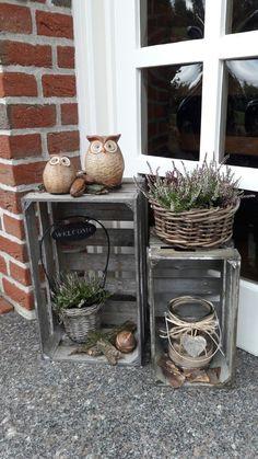Deko Vor Der Haustur Deko Garden Decor Und Christmas Decorations