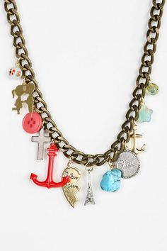 Victoria Charm Necklace #urbanoutfitters
