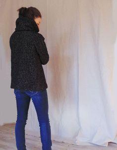 Giacca di lana / Giacca donna / Cappotto donna / di Easyatelier