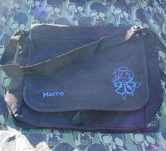 Vocaloid Kaito Messenger or Laptop bag. $19.99, via Etsy.--Rani