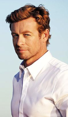"""mehntalsis: """" Simon Baker for """"Gentlemen Only Intense"""" by Givenchy. """""""