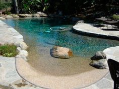 You'll want to take a dip in these beautiful, sustainable pools.
