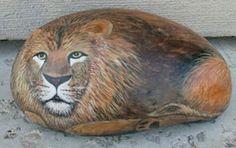 """petrockportrait: Pet Rock """"Big Cats"""""""