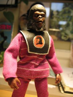 "Custom mego Planet of the Apes Aboro from the TV series episode ""the Tyrant"""