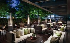 Ritz Toronto DEQ Patio