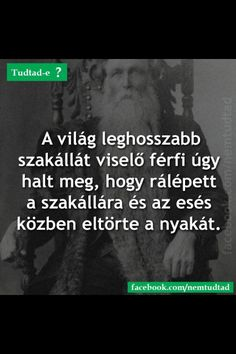 Tudtad-e? Fun Facts, Haha, Funny Quotes, Thoughts, Humor, History, Tips, Funny, Funny Phrases