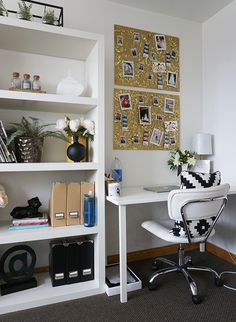 Our Office Makeover – Inspired by This